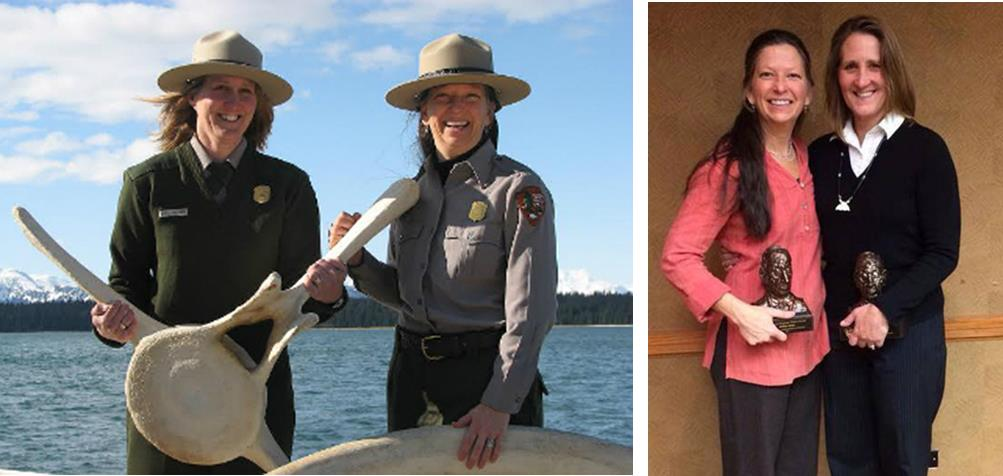 2014 Freeman Tilden Award goes to Glacier Bay Whale Educators Kelly and Melissa