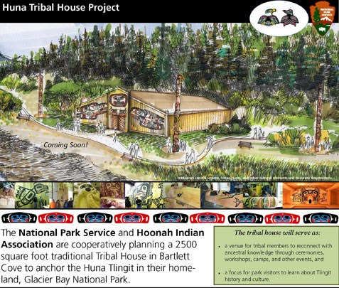 The Huna Tribal House is scheduled for completion during the summer of 2016.