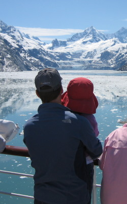 Beautiful day in Glacier Bay