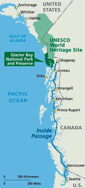 Directions Glacier Bay National Park Amp Preserve U S