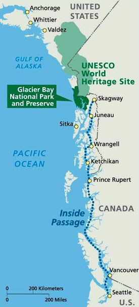 Pelican Bay Alaska Map.Directions Glacier Bay National Park Preserve U S National