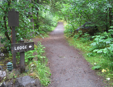 Trail to Lodge