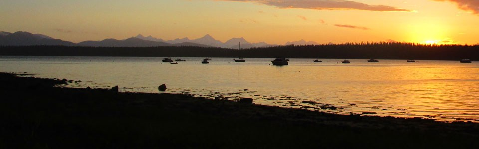 Bartlett Cove sunset
