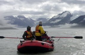 Alsek River rafting