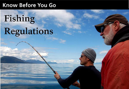 fishing regulations-Know before you go