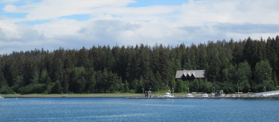 Lodge in Bartlett Cove