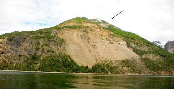 Detail view of the Tidal Inlet Slide