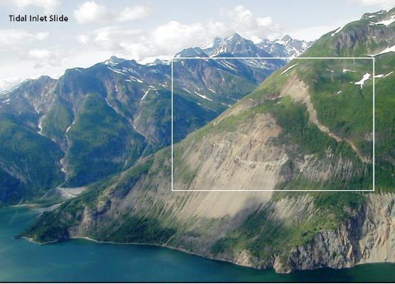 Landslides And Giant Waves Glacier Bay National Park