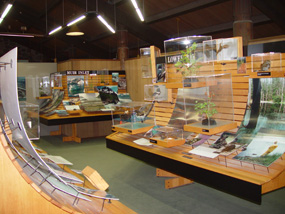glacier bay visitor center exhibits