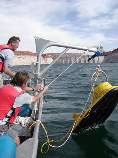 Sediment Research at Glen Canyon NRA