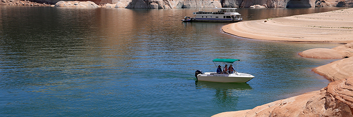 Things to do glen canyon national recreation area u s for Lake powell fishing license