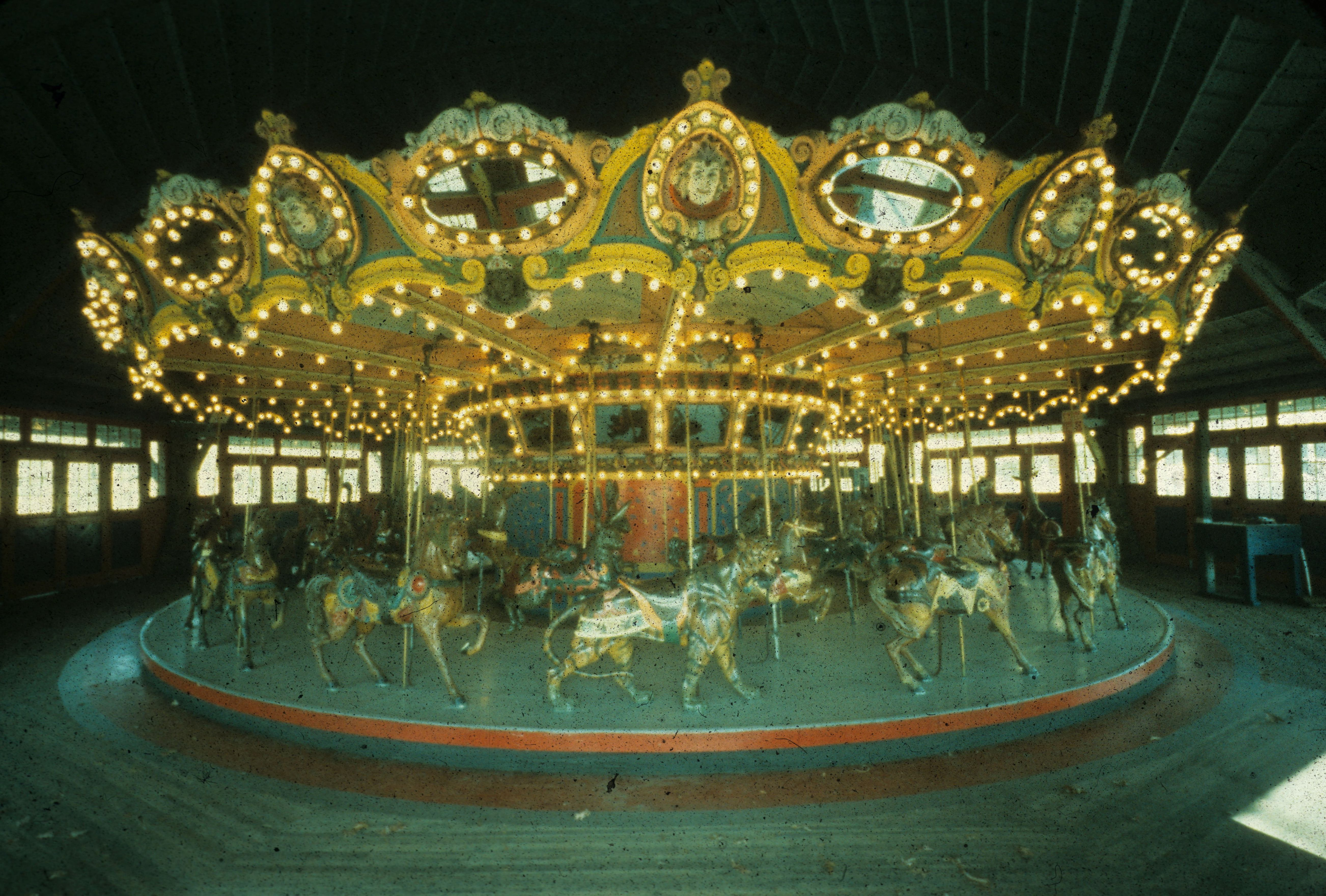 Carousel before restoration
