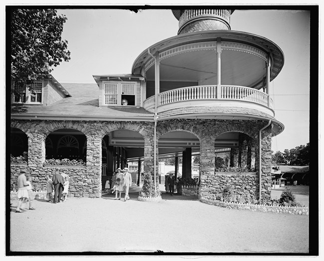 restaurant at park nps circa 1920s