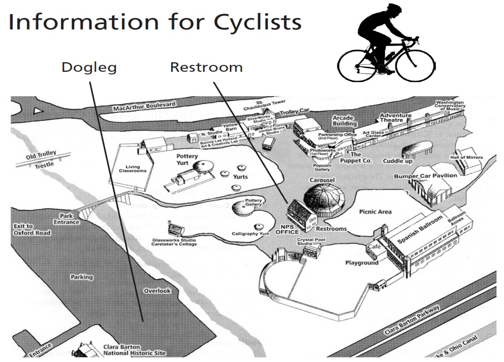 Information for Cyclists photo