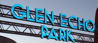 Glen Echo Park Entrance Sign. Photographed by Bruce Douglas.