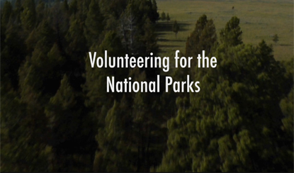 National Park Service Volunteers In Parks Program