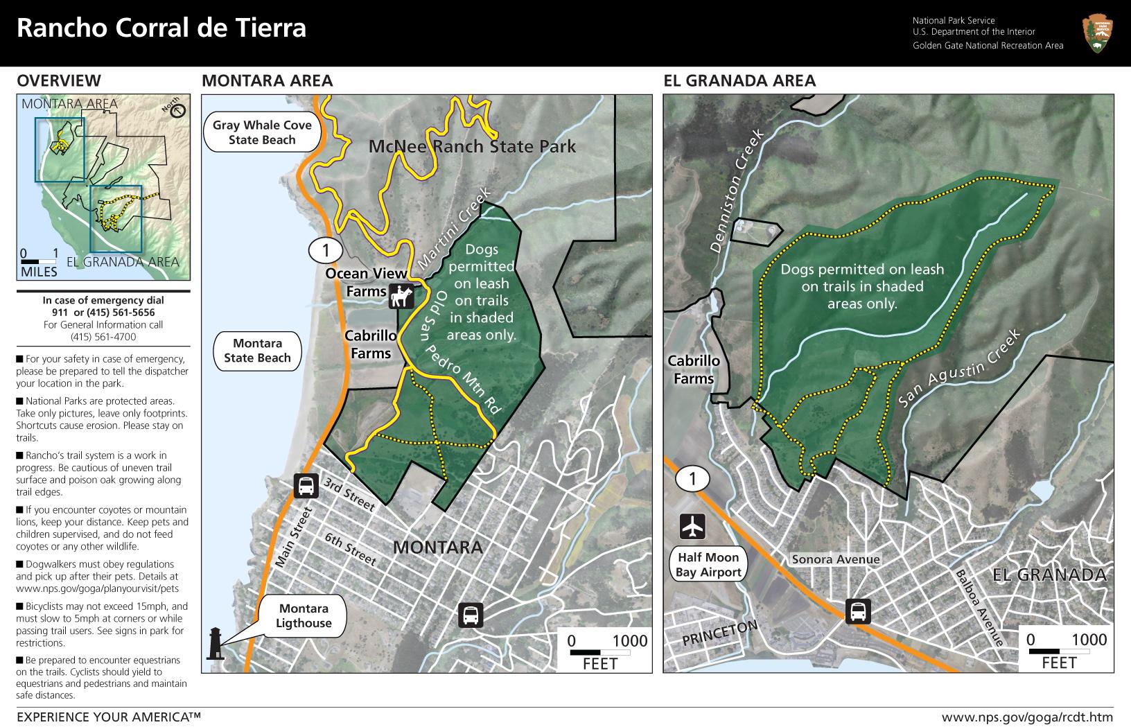 Rancho Corral De Tierra Trail hiddenSFcom