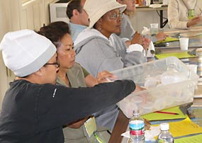 Teachers learn about Edible Geology lesson