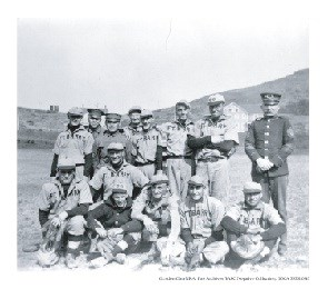 Fort Barry baseball team, c 1910