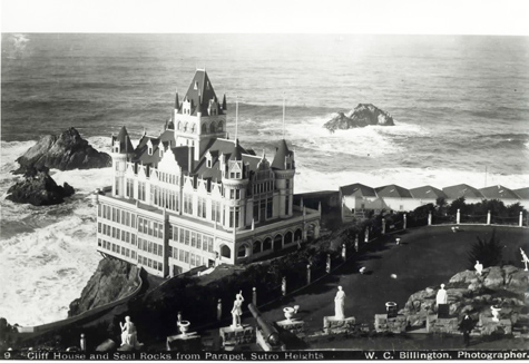 Historic Image Of The Second Cliff House