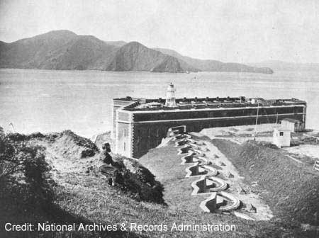 historic image of Fort Point