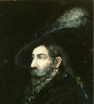 Portrait of Don Juan Bautista de Anza (1735-1788) by Fray Orci