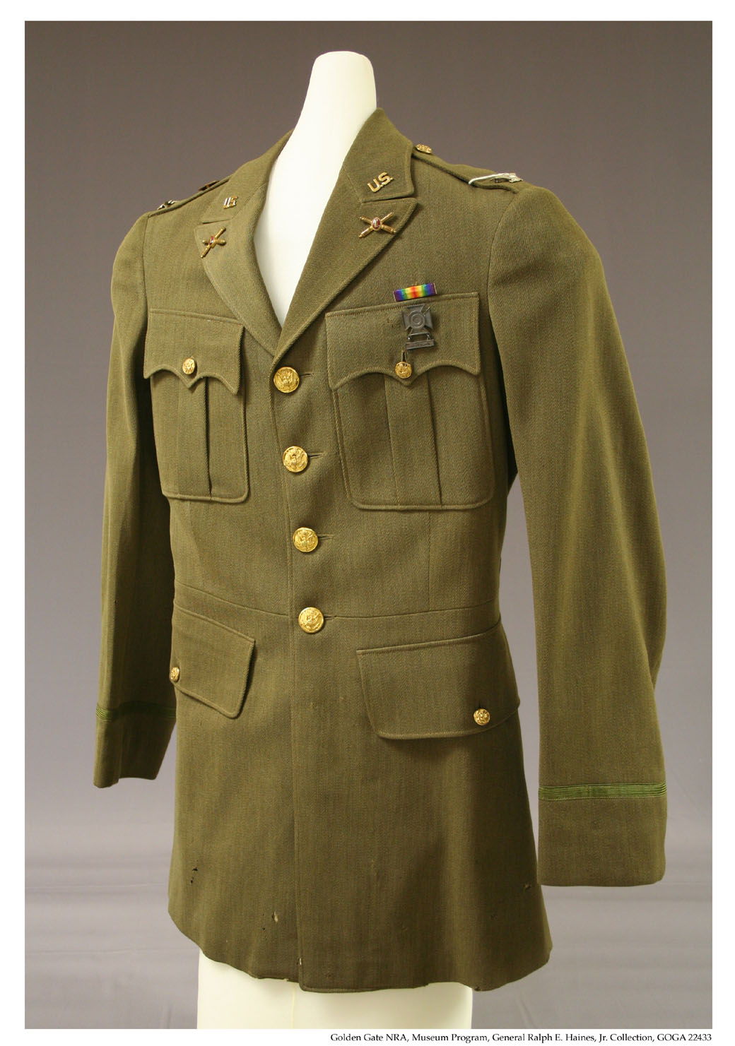 GOGA 22433 Ralph E. Haines Jr Collection Service Coat