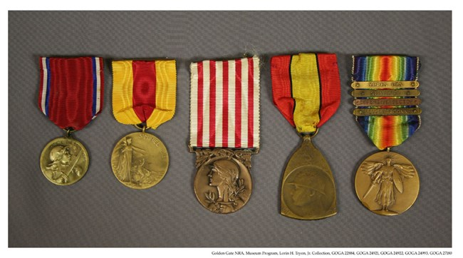 GOGA 22884, 24921, 24922, 24993, 27180 Tryon Collection 5 Medals
