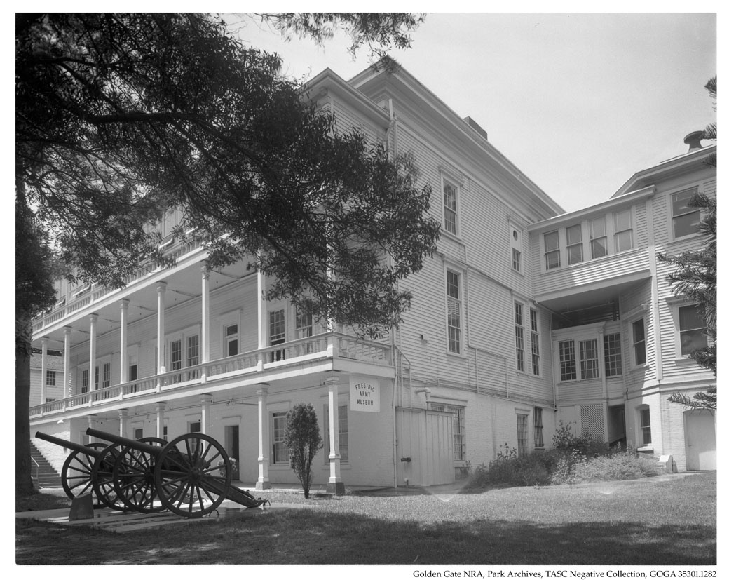 GOGA 35301-1282 TASC Negative Collection PE2 Presidio Army Museum