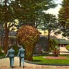 color postcard of Presidio
