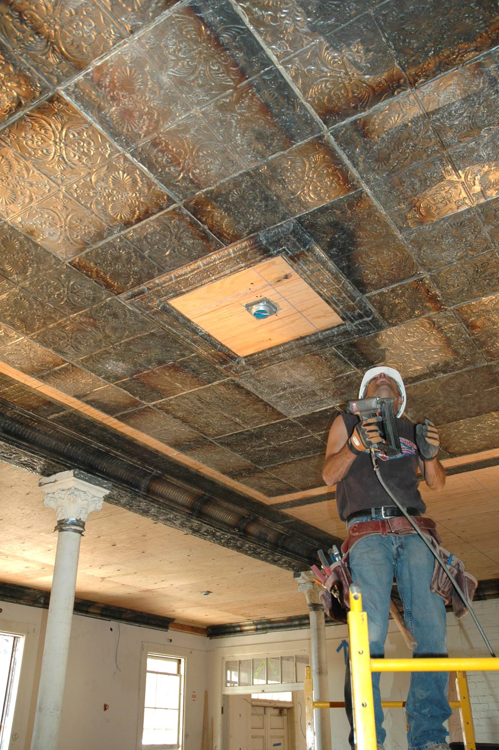 Installation Of Metal Ceiling Tiles