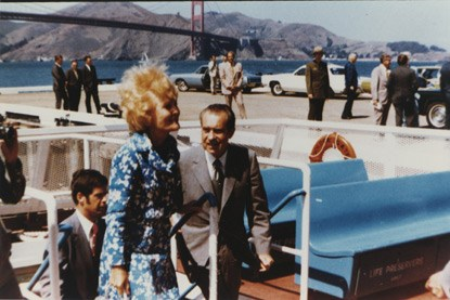 President and Mrs. Richard Nixon visit Golden Gate National Recreation Area