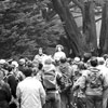 People for A Golden Gate National Recreation Area leading public tours in the early 1970s
