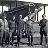 Dana Crissy and his fellow pilots at the army airfield that would be later named Crissy Field