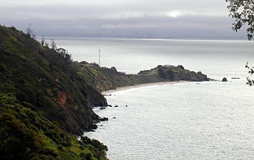 Contemporary photo of Point Blunt at Angel Island