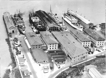 San Francisco Port of Embarkation in the 1930s