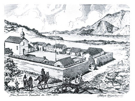 Presidio of San Francisco c. 1776