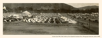 Army Encampment at Camp Merritt