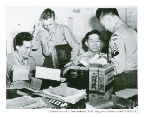 Nisei Interpretors at the Military Intelligence Service Language School