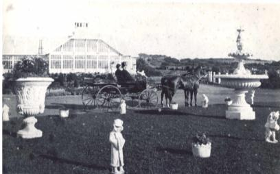 Sutro Heights park in the 1880s