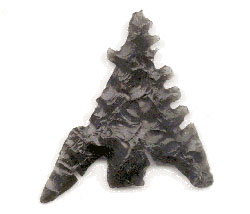a chiseled stone tool