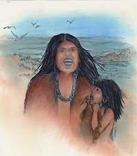 Singing was an important part of Ohlone and Coast Miwok culture