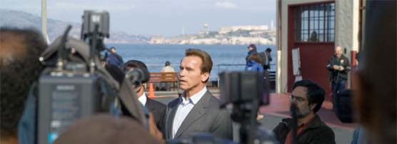 Governor Arnold Schwarzenegger responds to the 2007 Cosco Busan oil spill
