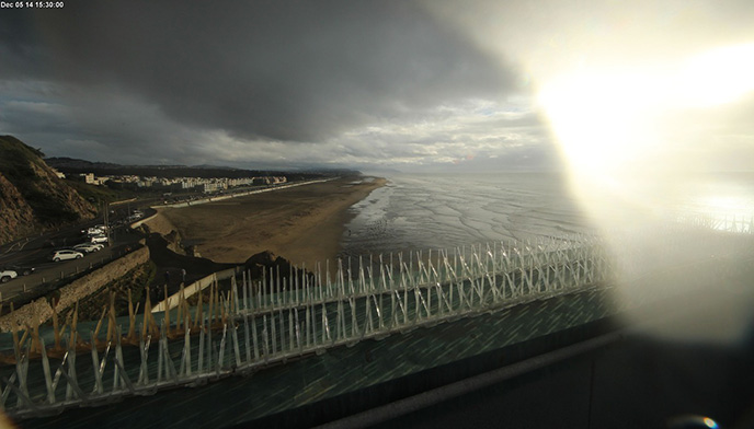 Web Cam view of Ocean Beach