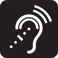 Assisted Listening System Symbol