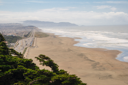 View of Ocean Beach