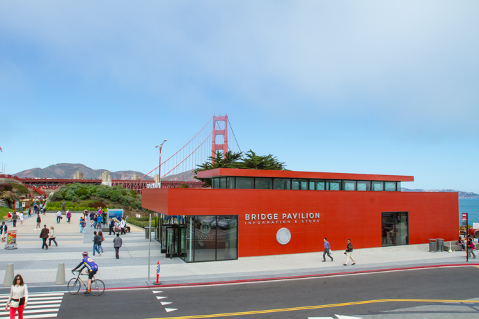 The Golden Gate Bridge Pavilion