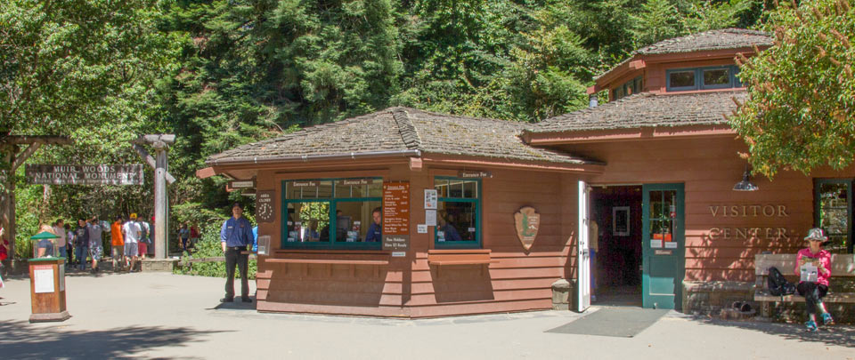 Muir Woods Visitor Center exterior photo