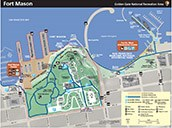 thumbnail of Fort Mason map