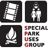 special park uses group's logo